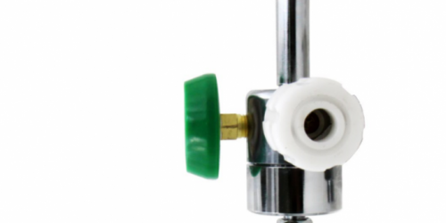 Integrated oxygen inhalator