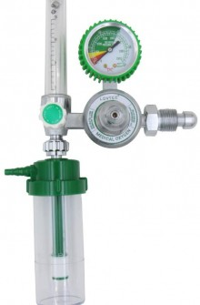 Gauge for oxygen inhalator