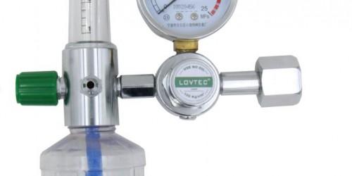 Simple oxygen inhalator