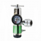 Brass click style oxygen regulator