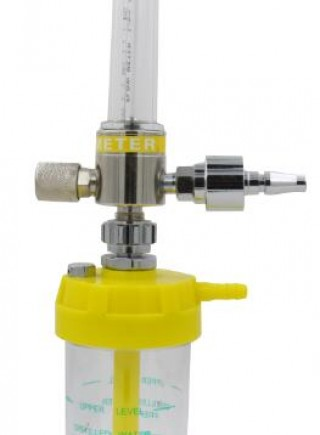 Brass oxygen flowmeter