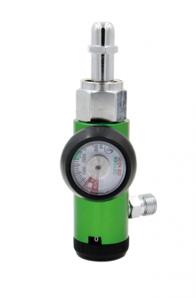 Western style oxygen regulator