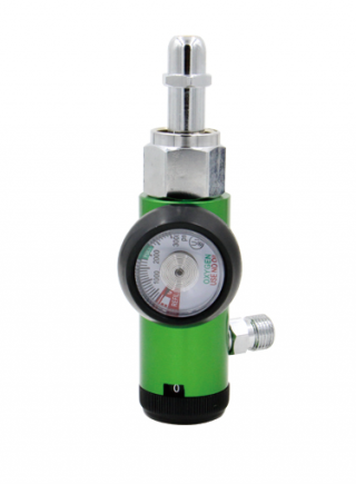 Nipple style CGA540 Oxygen Regulator