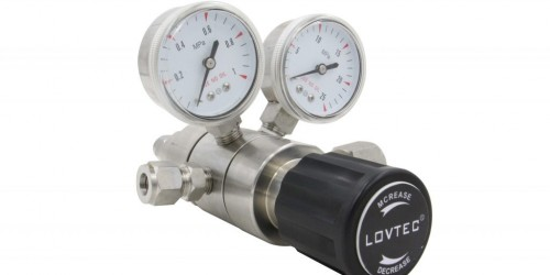 Double stage stainless steel regulator
