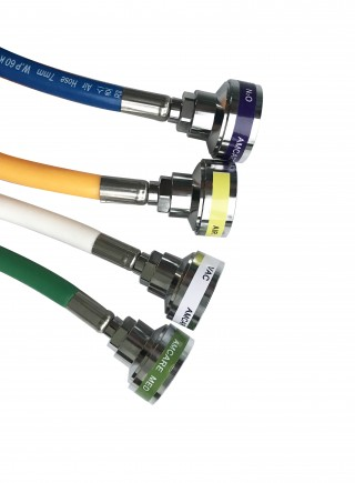 USA & ISO Colors Hose Assemblies