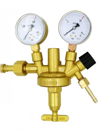 DIN style industrial gas pressure reducer