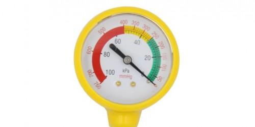 Vac gauge for vaccum regulator