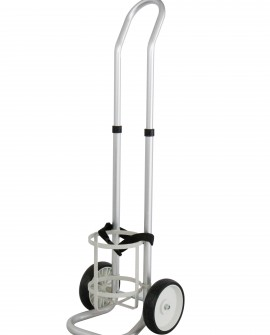 Big steel cylinder trolley