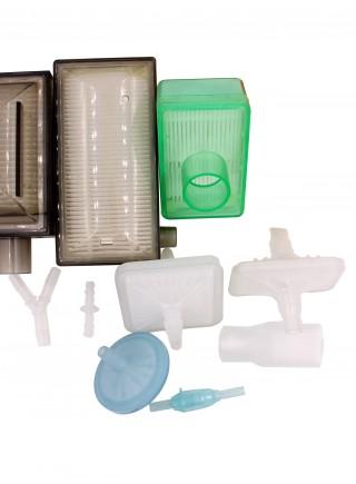 Plastic gas filter