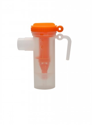 Medical plastic nebulizer atomizing cup