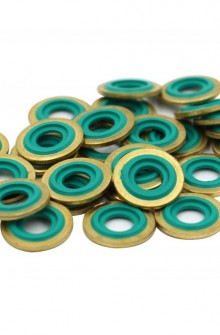 Brass washer seal