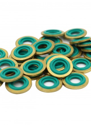 Brass washer seal